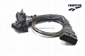 J1962 OBD-2 16P M TO 2*F CABLE