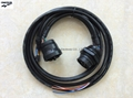 Deutsch J1939 9p M to F +Molex 2*6p Cable