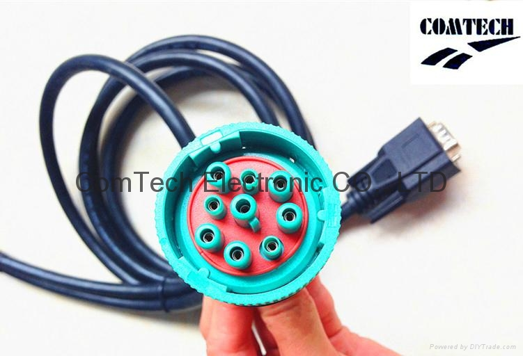J1939 9p M to 9p F +DB 15p M Y Cable 3