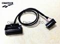 OBDII 16P+MOLEX 1*9P Atuo cable