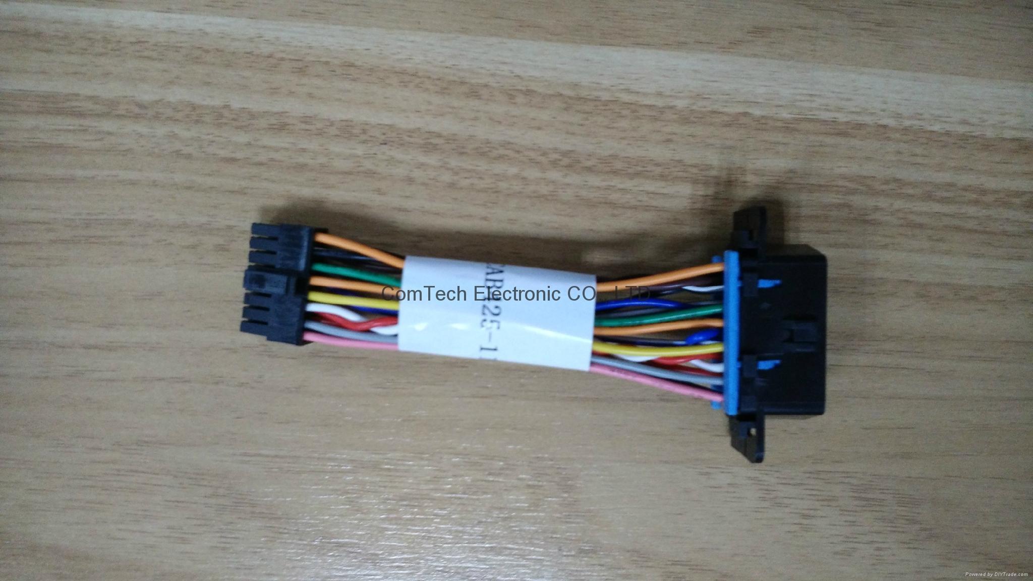 KIA Connectors OBD Female to Molex3.0 2*8p -004