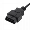 obd 2 obd ll obd2 connector extension cable 6