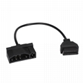 j1962 obd ii Ford 7pin cable