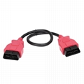 obd2 j1962 obd ii 16 pin extwnsion cable