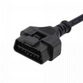 j1962 obd2 custom OBDII 16 pin obd cable