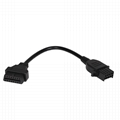 j1962 obd2 custom OBDII 16 pin obd cable