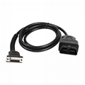 obdii obd2 obd to db15  car diagnostic test cable