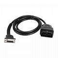 obdii obd2 obd to db15  car diagnostic test cable