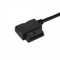 obdii obd2 obd to 2.54 car diagnostic test cable