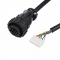 16PIN MALE TO SCSI 20PIN SCSI to obd cable SCSI to obd cable for VGA interface D