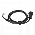 OBDII16針插頭到SCSI 20針SCSI到車載診斷系統電纜 5