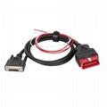 16针插头到DB15P插座,带线束obd2 db15电缆,用于VGA接口诊断DIY编程