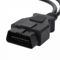 16PIN MALE TO FEMALE Y CABLE with BMW CONNECTOE obd OBD2 splitter obdii y type