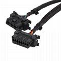 16針公母Y型電纜,帶本田連接
