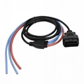 16PIN MALE WITH Divider Wire harness obd OBD2 splitter obdii y type cable For OB