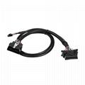 16PIN MALE TO MOLEX 6P with Honda connector obd obd2 OBD2 splitter y male 2 fema