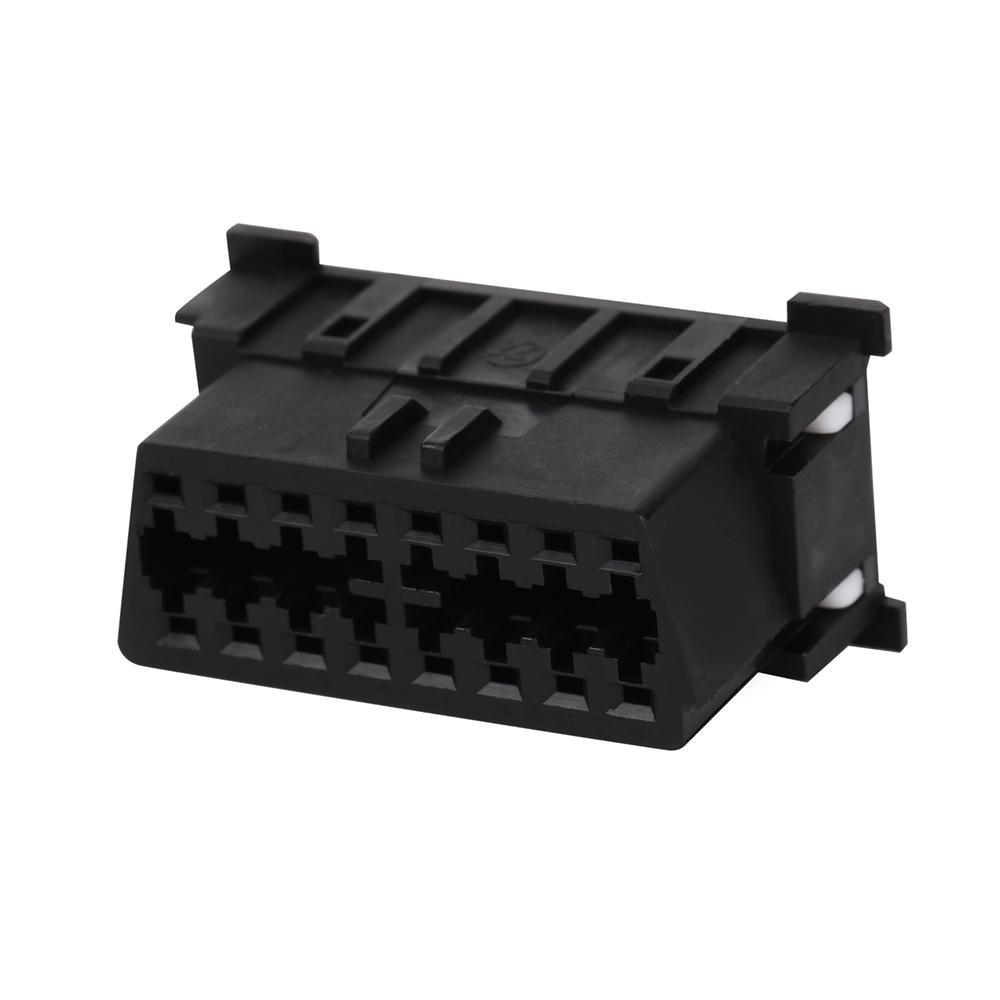 馬自達連接器obd2公母y形電纜的16針公到MOLEX 6P 2