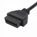 16針公對母,帶DB15P連接器obd 2 obdii電纜, 2