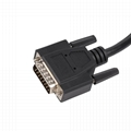 16PIN MALE TO FEMALE with DB15P CONNECTOR obd 2 obdii y cable with DB15 For OBD2
