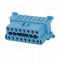 16針插頭到MOLEX 6P,帶迷你連接器obd 16針obd2 y電纜 5