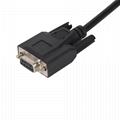 OBDII 16PIN MALE TO DB9P with 4 plugs obd2 obd-ii male y obd to db9 splitter cab