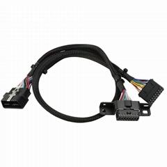 通用車載診斷系統線車載診斷系統16針車載診斷系統y分裂電纜