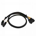 Universal OBD2 T-Harness with Brackets universal obdii obd2 obd 16 pin obd y spl