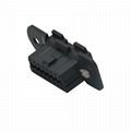 OBDII 16P FEMALE VOLOV CONNECTOR obd2 female 16pin obd connector For Used to equ