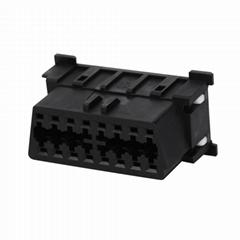 OBDII 16P FEMALE Mazda CONNECTOR obd2 female 16pin obd connector For Used to equ
