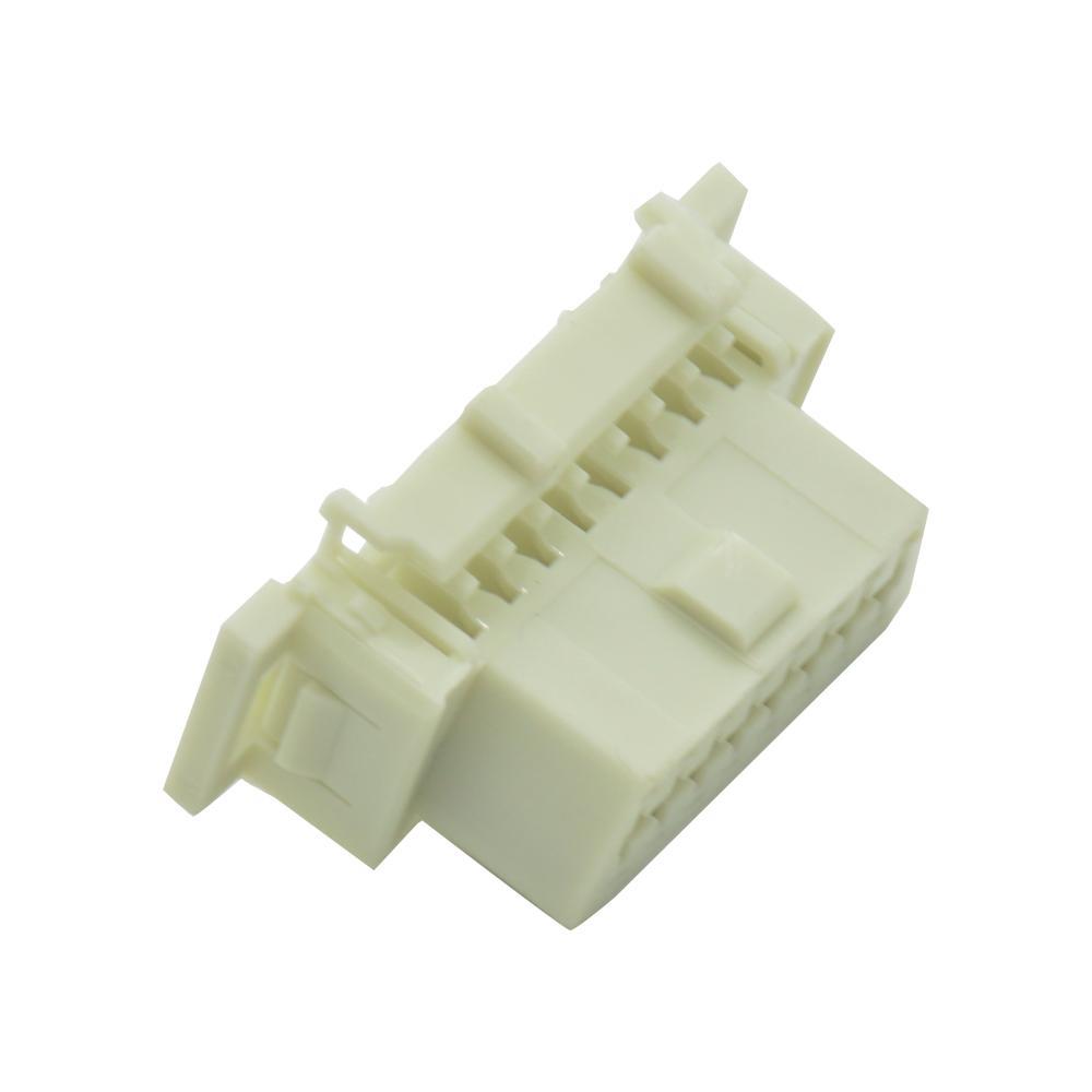 OBDII 16P母本田連接器obd2母16針車載診斷連接器 3