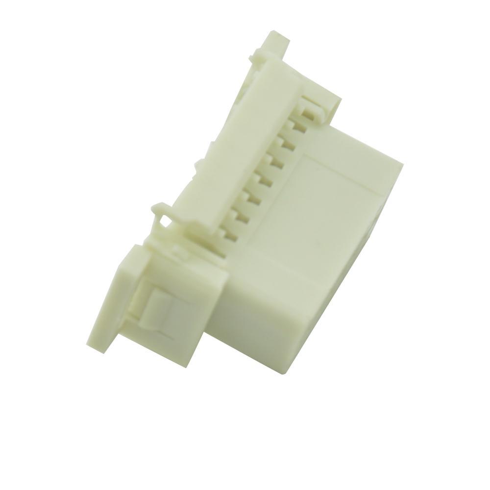 OBDII 16P母本田連接器obd2母16針車載診斷連接器 4