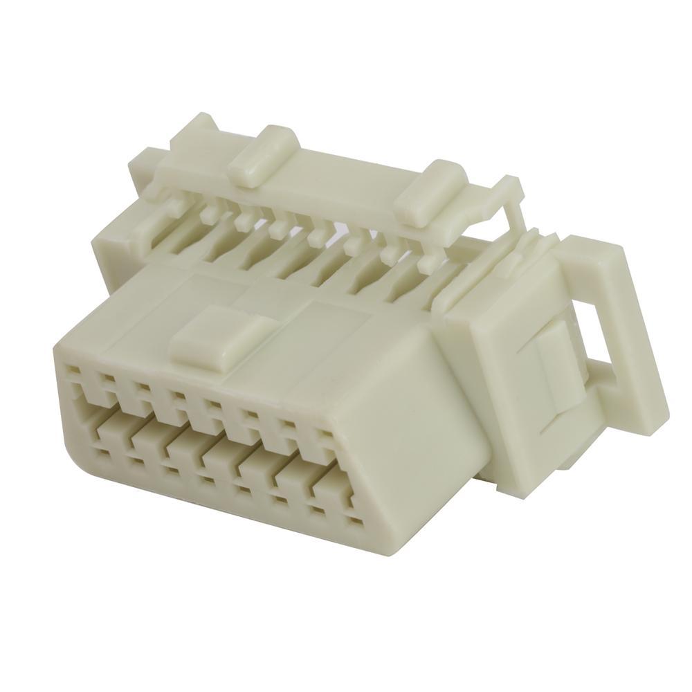 OBDII 16P母本田連接器obd2母16針車載診斷連接器 1