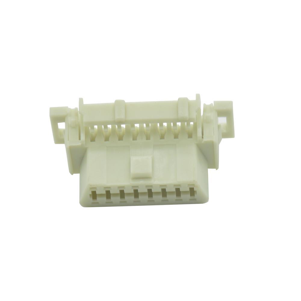 OBDII 16P母本田連接器obd2母16針車載診斷連接器 5