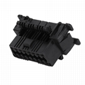 OBDII 16P FEMALE KIA CONNECTOR obd2 obdii 16 pin cable connector For Used to equ