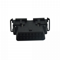 OBDII 16P FEMALE chrysler CONNECTOR obd obdii obd-ii j1962 2 male connector For