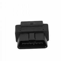 OBD-II16針公對母超短適配器車載診斷2 16針公適配器