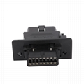 16PIN MALE TO FEMALE Assembly Adapter obd obd2 16 pin male adapter For OBD2 Diag