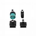 16針外螺紋至m12 8針適配器M12 8針防水連接器 2