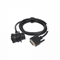 MOLEX 3.0 12PIN MALE TO J1939 9P MALE sae j1939 9 pin  molex cable For Transport