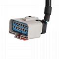 RP122614英吋至DT06-3P帶電纜RP1226 14英吋連接器電纜 3