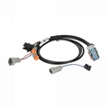 RP1226 14Pin TO DT06-3P With FUSH CABLE RP1226 14PIN CONN Cable For Transport eq