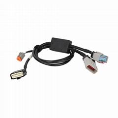 RP1226 14分支器Y形電纜低壓注塑RP1226 14分支連接器電纜
