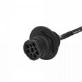 通用j 1939-9引腳ELD電纜,帶支架j1939/J1708/RP1226 eld電纜 3