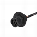 Universal J1939-9Pin ELD cable with Brackets j1939/J1708/RP1226 eld cable For Tr