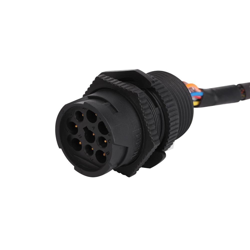 通用j 1939-9引腳ELD電纜,帶支架j1939/J1708/RP1226 eld電纜 5