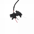 9PIN TYPE1 MALE TO 9P TYPE1 FEMALE BLACK WITH FUSH j1939 9 pin splitter y cable