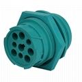 j1939 9針2型內螺紋綠色