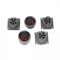 J1708 6PIN FEMALE Gray connector truck j1708 conector j1939 eld gsm based odb2 d