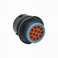 HDP24-18-14PE succedaneum deutsch connector hdp20 For manufacture 9-Pin J1939 ca