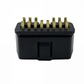 Plug of OBD2 16 pin automobile fault diagnosis instrument